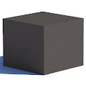 Grey Cube icon