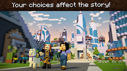 Minecraft: Story Mode – Season Two 1.03 CRACKED Apk + Data 8