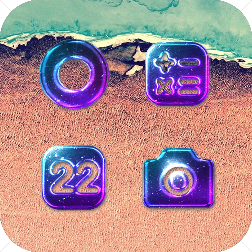 Dark Purple Crystal Icon Pack