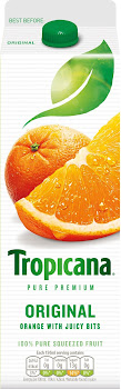 Tropicana Juice - 950ml, Orange