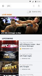 FOX Sports GO Screenshot 2