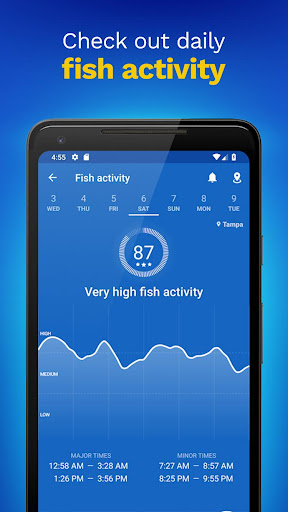 Fishing Points: GPS, Tides & Fishing Forecast 2.9.7 screenshots 4