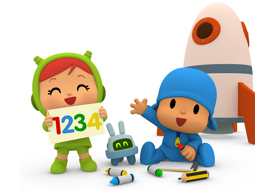 Pocoyo 1, 2, 3 Space Adventure: Discover the Stars apkpoly screenshots 16