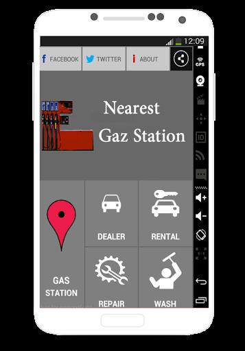 World Gaz Station localisaton