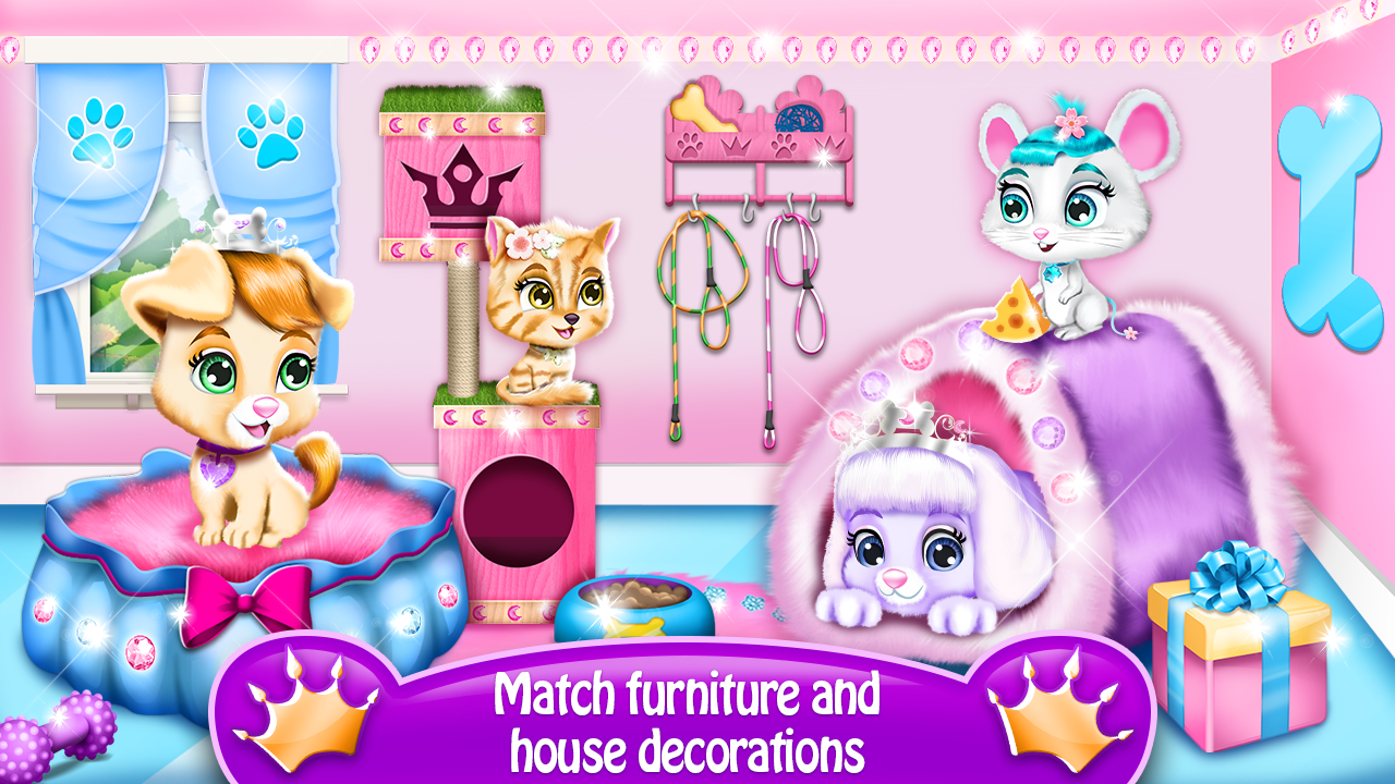 Pet House Game Princess Castle Android Apps On Google Play
