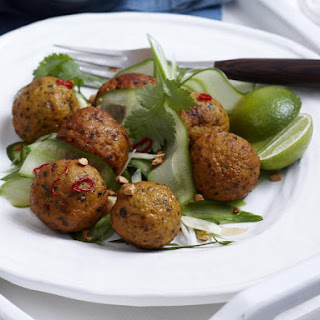 Thai Fish and Cilantro Balls