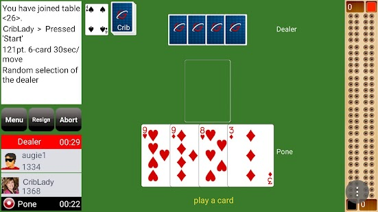 GC Cribbage- screenshot thumbnail