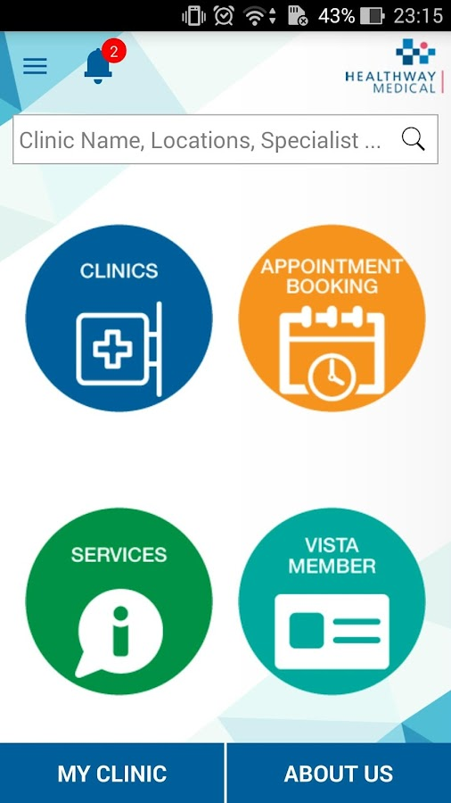Healthway Medical Group- screenshot