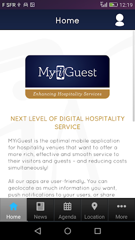 android MYiGuest Screenshot 1