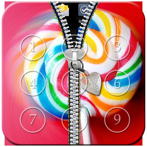 Lollipop Zipper Lock