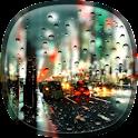 Rainy City Live Wallpaper HD icon