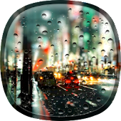 Rainy City Live Wallpaper HD