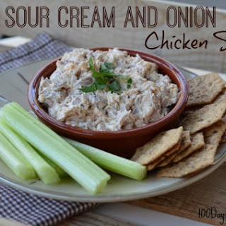 Sour Cream and Onion Chicken Salad.