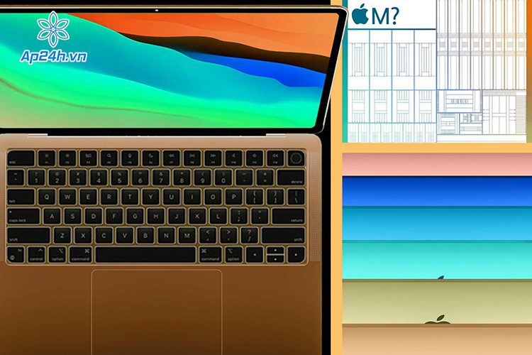 MacBook Air thế hệ mới sẽ được trang bị chip Apple M2 cùng 6 màu sắc