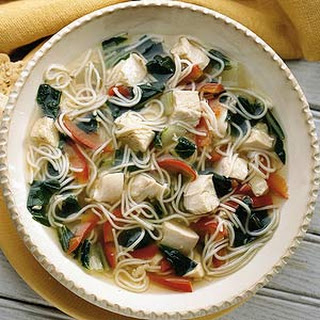 Five Spice Chicken Noodle Soup
