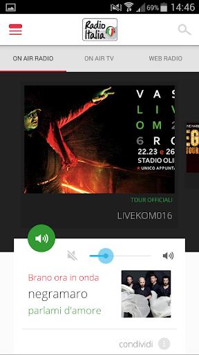 Radio Italia 3.8 screenshots 1
