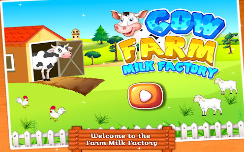 Cow Farm Milk Factory - Milk Maker Game