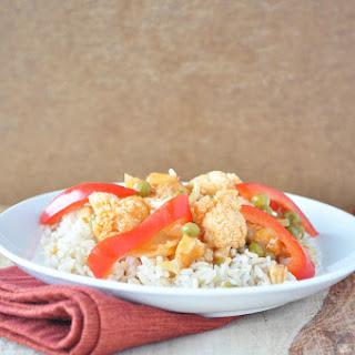 Sweet and Sour Cauliflower Stir Fry Recipe