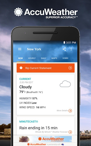 AccuWeather app (apk) free download for Android/PC/Windows screenshot