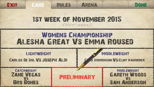 Weekend Warriors MMA 1.177 screenshots 8
