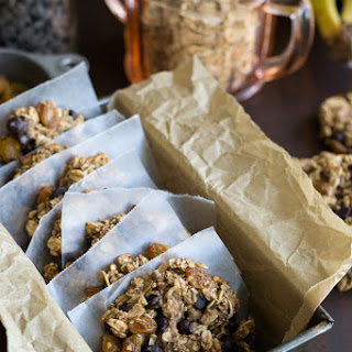 Four-Ingredient Chocolate Chip Oatmeal Cookies.
