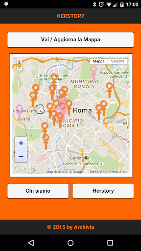 Herstory Map Femminismo Roma