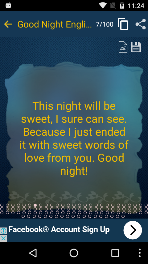 Pictures of Goodnight Facebook Status Updates - #rock-cafe