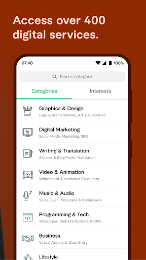 Fiverr - Freelance Services 3.2.1 Screenshots 4