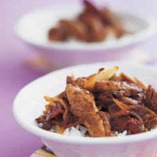 Sichuan Chicken Stir-fry