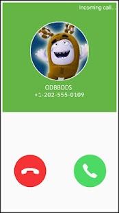 Oddbods Fake Call Simulator - náhled