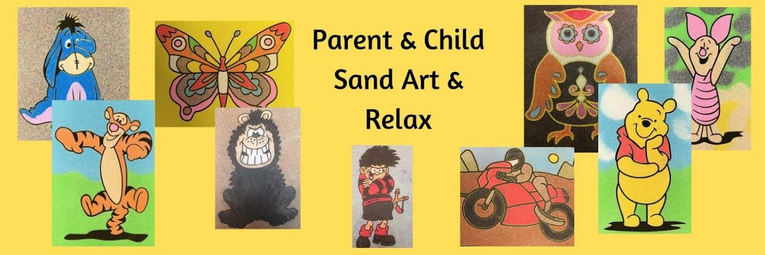 Parent & Child Sand Art & Relax Class