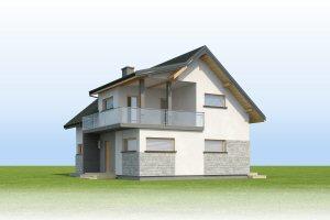 Aosta III Termo - Elewacja przednia