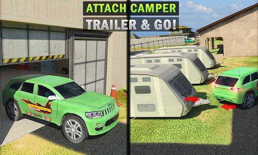 Camper Van Truck Simulator: Cruiser Car Trailer 3D 1.10 screenshots 4