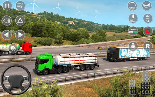 Indian Truck Offroad Cargo Drive Simulator apktram screenshots 11
