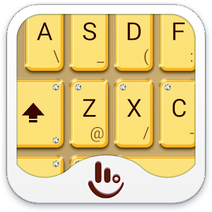 download Golden Yellow Keyboard Theme apk
