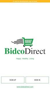 BidcoDirect - náhled