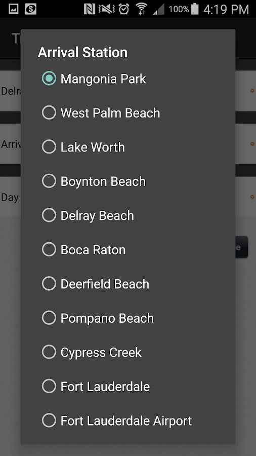 Tri-Rail- screenshot