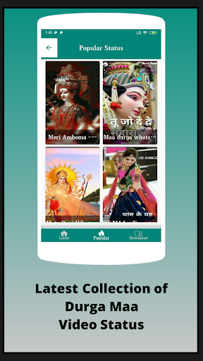 Maa Durga video status screenshot 2