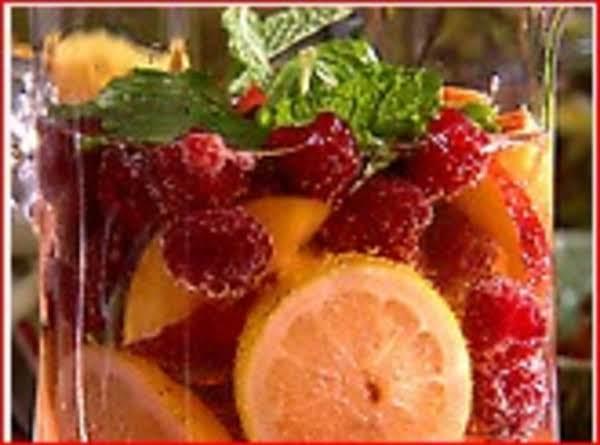 Raspberry Ice Tea Punch