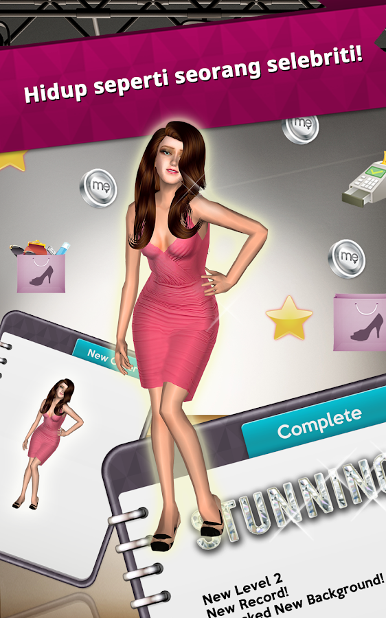 Glamour Me Girl :Star Dressup- screenshot