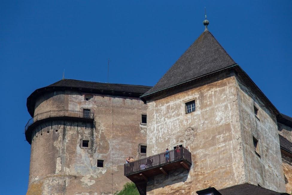 Zamek Środkowy i Zamek Górny