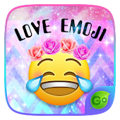 Love Emoji GO Keyboard Theme