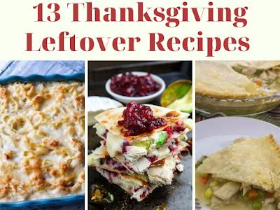 13 Thanksgiving Leftover Recipes