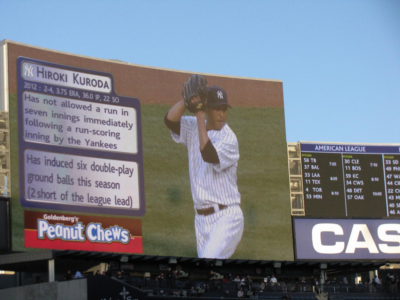 Photo: Yankees vs Mariners at Yankee Stadium (May 11)