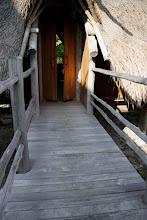 Photo: Walkway between master bedroom and second bedroom