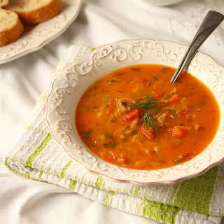 Vegan Doukhobor-Style Borscht Soup.