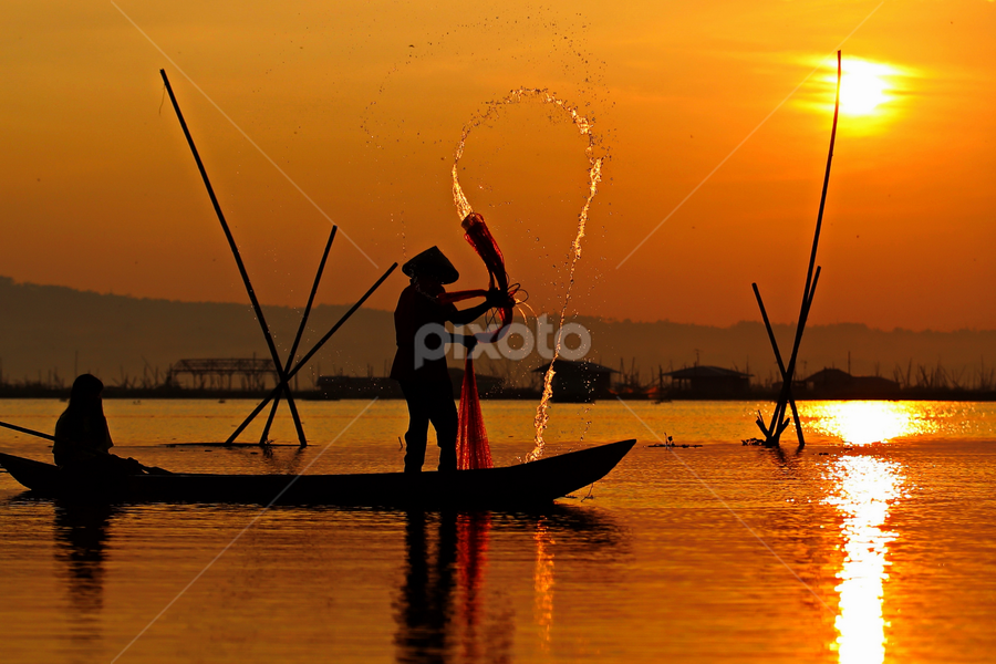 with you forever by DODY KUSUMA  - People Couples ( red, pwcsilhouettemotion, indonesia, barlin, people, silhouette )