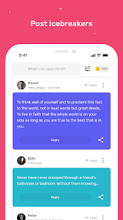 Profoundly: Live Chat, Random Video & Games Screenshot