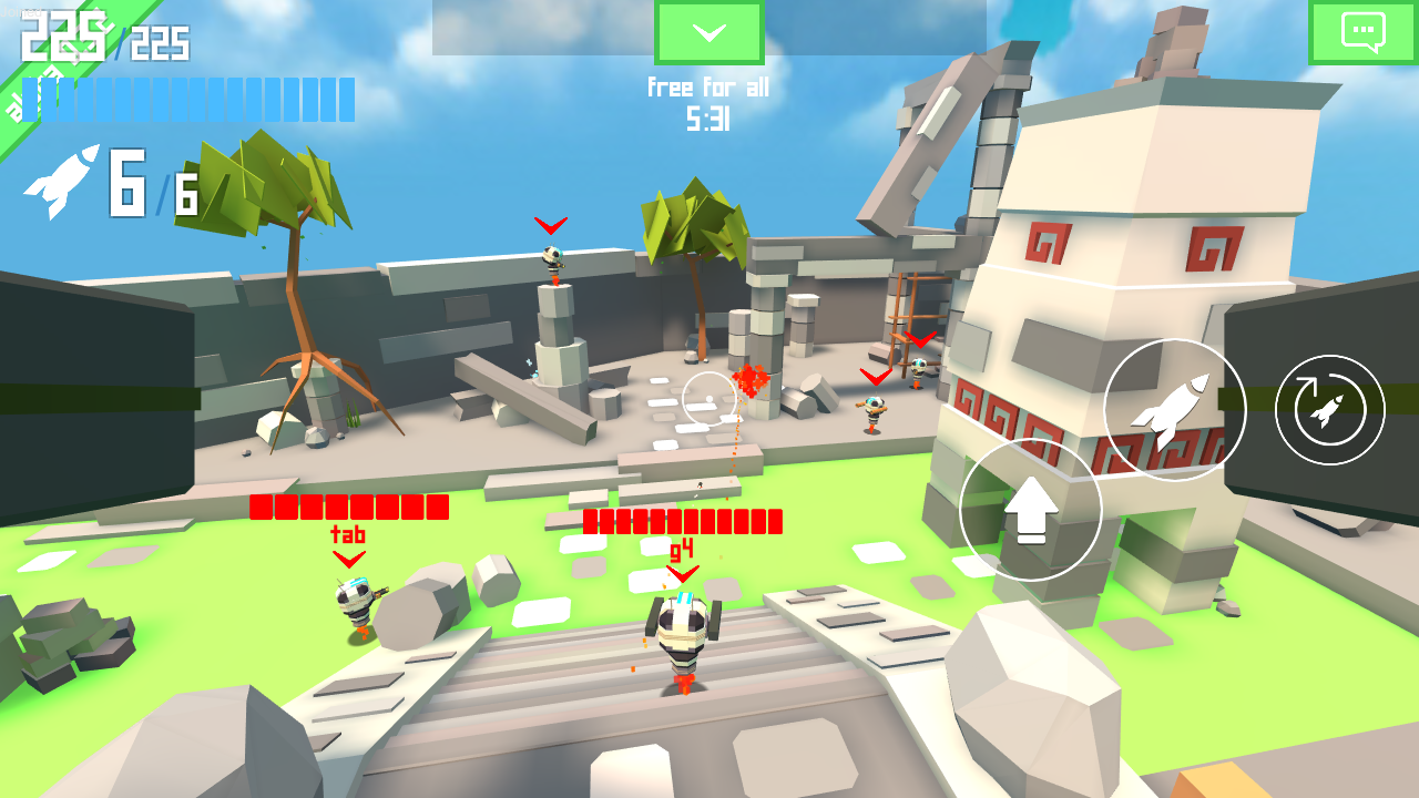Rocket Shock 3D - Alpha- screenshot