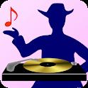Dance 'N App - Free Club Music icon